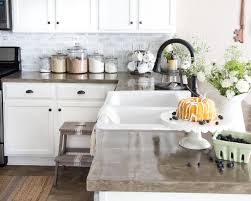 kitchen ideas with white washed cabinets 7 diy kitchen backsplash ideas that are easy and inexpensive