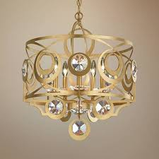 Crystal And Gold Chandelier Schonbek Gwynn 21