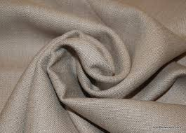 Cotton Linen Upholstery Fabric Taupe Solid Linen Texture Heavy Weight Cotton Fabric Upholstery