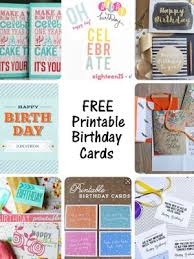 25 unique printable birthday cards ideas on pinterest free