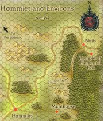Tomb Of Horrors Map Dragonsfoot U2022 View Topic Verbobonc City Detailed At Last