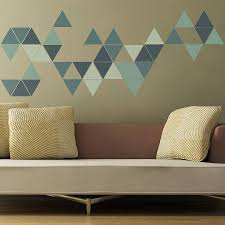 geometric triangles wall stickers triangle wall wall sticker geometric triangles wall stickers