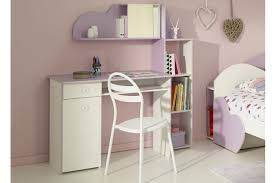 bureau blanc fille bureau blanc et pour chambre fille l 121 x h 77 x p of bureau