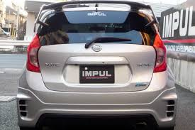 nissan tiida 2008 modified nissan versa note gets aggressive makeover by impul tuning from