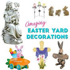 Outdoor Easter Decorations by Easter Yard Decorations Incredible Outdoor Easter Decorations Ideas