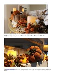 cozy folk art style fall decorations for the home and garden