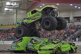 monster truck stunt show monster x tour invades fort wayne