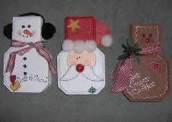 paver brick gingerbread man santa u0026 snowman doorstops