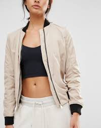 affordable fashion women bomber jackets river island contrast