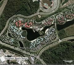 walt disney resort map caribbean maps