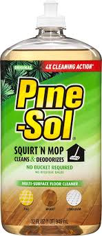 can i use pine sol to clean wood kitchen cabinets pine sol and mop floor cleaner original 32 ounces 6 bottles 97348