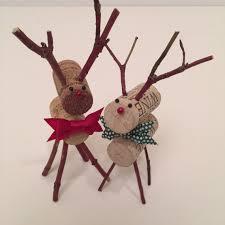 reindeer ornament ornament tree decoration wine cork
