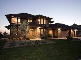 style home designs plan 14469rk prairie style home plan luxury houses photo