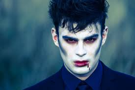 halloween vampire make up tutorial youtube