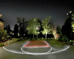 Outdoor Basketball Court Cost Estimate by 119 Best Backyard Basketball Court Images On Backyard