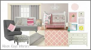 Rug For Baby Nursery Baby Nursery Gray Walls Pink Rug White Furniture Baby