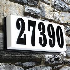 light up address sign address plaque naturalsuccess info