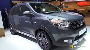 renault lodgy price 2018 dacia lodgy stepway exterior and interior walkaround 2017