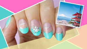 tokyo inspired nail art the world at your fingertips w