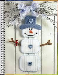 247 best plastic canvas snowmen images on plastic