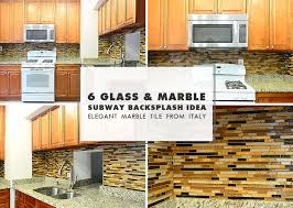 Brown Subway Travertine Backsplash Brown Cabinet by Kitchen Backsplash Ideas Backsplash Com