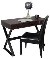 Dark Wood Office Desk Solid Wood Home Office Desks Home Office Midcentury With Aqua Dark