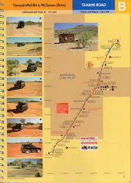 Shortest Route Map by Outback Travellers Tanami Road The Map Shop