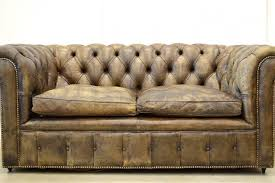Chesterfield Sofa Price by Vintage English Dark Brown Leather Chesterfield Two Seater Sofa
