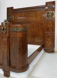 antik schlafzimmer intarsiertes mahagoni jugendstil schlafzimmer mit bronze putten