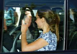 duchess kate the cambridges travel to anmer hall