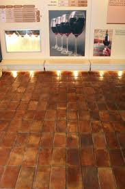 kitchen backsplash indoor terracotta floor tile terra cotta