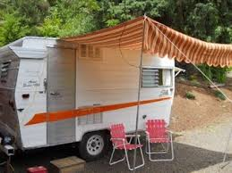 Vintage Trailer Awning 139 Best 1glamper Awning Canopy Images On Pinterest Camping