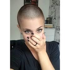 womens buzzed and bold haircuts love bald women internet hair pinterest bald women bald