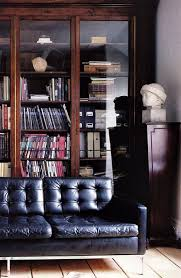 black bookcases with glass doors 25 best bookcase behind sofa ideas on pinterest room divider