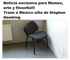 Stephen Hawking Meme - dopl3r com memes noticia exclusiva para memes arte y