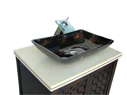 bathroom vanity vessel sink height u2013 chuckscorner