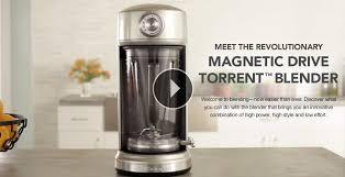 magnetic drive torrent blender kitchenaid