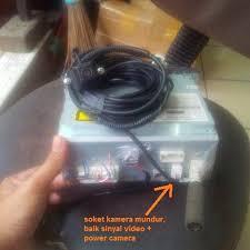 share wiring kabel kamera mundur head unit ex fortuner pasang di