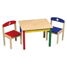 guidecraft childrens table and chairs guidecraft moon stars table chair set toys pinterest baby