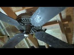 Emerson Ceiling Fans by Antique Emerson Ceiling Fan Youtube