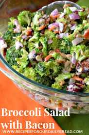 bacon sunflower seeds how to make awesome colorful broccoli salad with bacon recipe