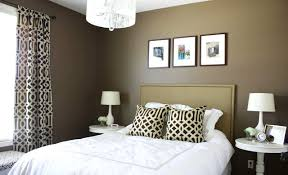 traditional guest bedroom ideas with white painted bedroom wall