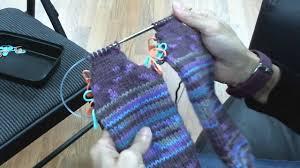 knitting pattern for socks using circular needles toe up socks on circular knitting needles turning the heel
