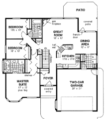 ranch style house floor plans ranch style house plan 3 beds 2 00 baths 1522 sq ft 18 1020 bright