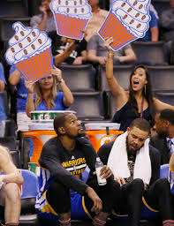 Oklahoma travel fan images Warriors beat thunder in kevin durant 39 s emotional dramatic homecoming jpg