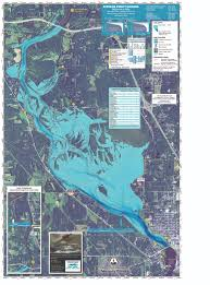 Wisconsin River Map by Stevens Point Flowage Bathymetric Survey And Mapping Project