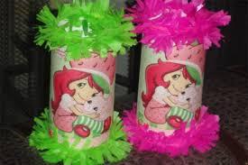 strawberry shortcake birthday party ideas strawberry shortcake birthday party mini pinatas goody bags favor