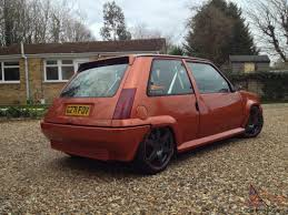 renault 5 tuning renault 5 gt turbo massive spec triple featured 240bhp