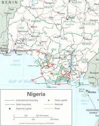 Gas Map Nigeria Pipelines Map Crude Oil Petroleum Pipelines Natural
