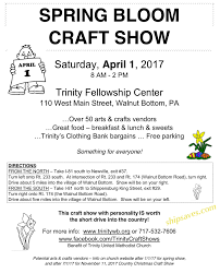 spring bloom craft show april 1 2017 ship saves